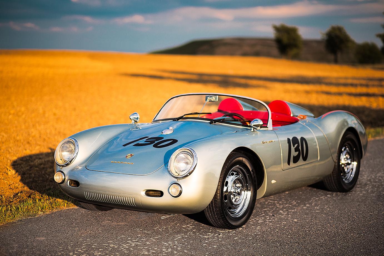 Porsche Spyder James Dean Prague