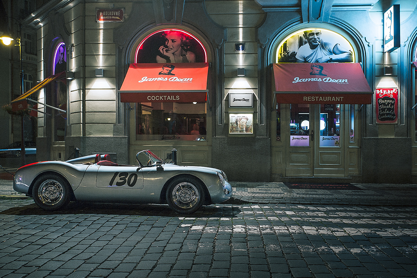 Porsche Spyder James Dean Prague